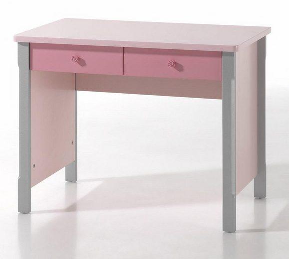 Vipack Schreibtisch »Cindy«, wahlweise mit Schminkaufsatz