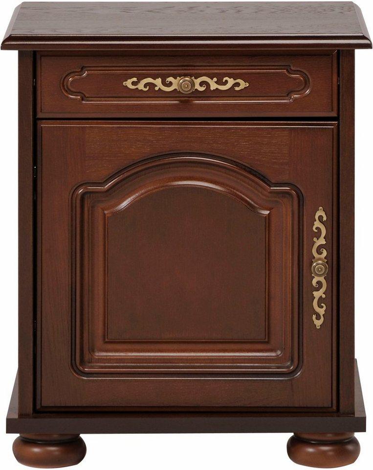 premium by home affaire nachttisch berry hochwertig verarbeitet mit echtholzfurnier. Black Bedroom Furniture Sets. Home Design Ideas