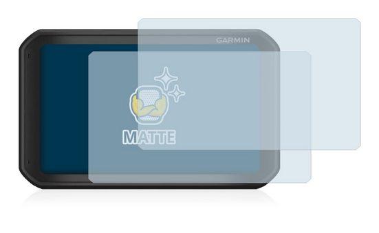 BROTECT Schutzfolie »für Garmin Catalyst«, (2 Stück), Folie Schutzfolie matt entspiegelt