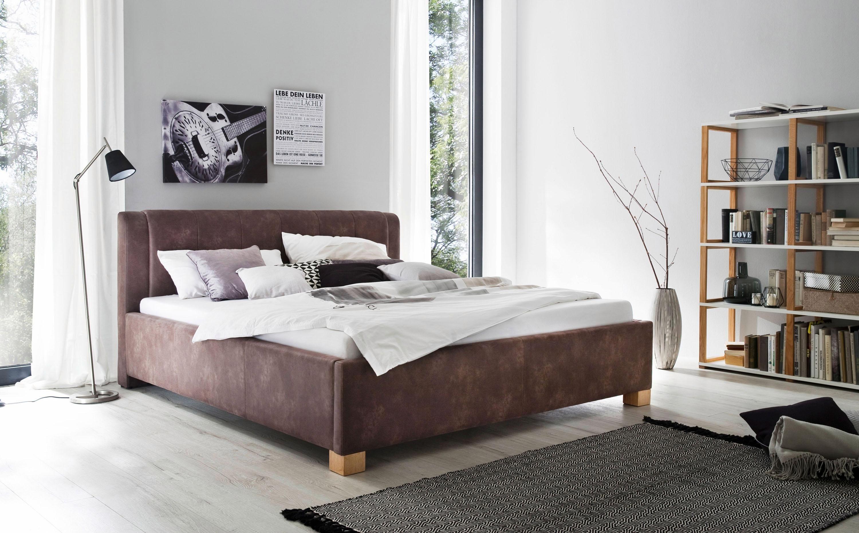 massivholz-stoff Polsterbetten online kaufen | Möbel-Suchmaschine ...
