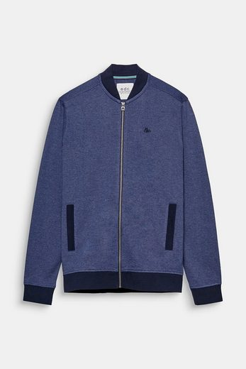 EDC BY ESPRIT Sweat-Cardigan im Bomber-Style