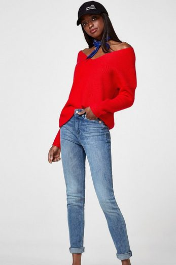 ESPRIT Stretch-Jeans im Used-Look