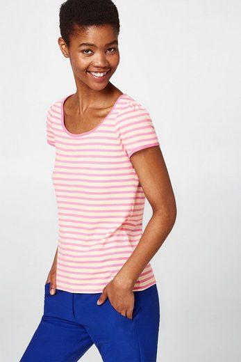 EDC BY ESPRIT Ripp-Jersey-Shirt, 100% Baumwolle