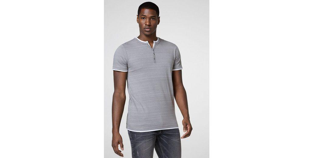Verkauf Online-Shopping Spielraum Billig Echt ESPRIT Henley-Shirt aus softem Jersey Rabatt Neue Stile erVixcpFx4