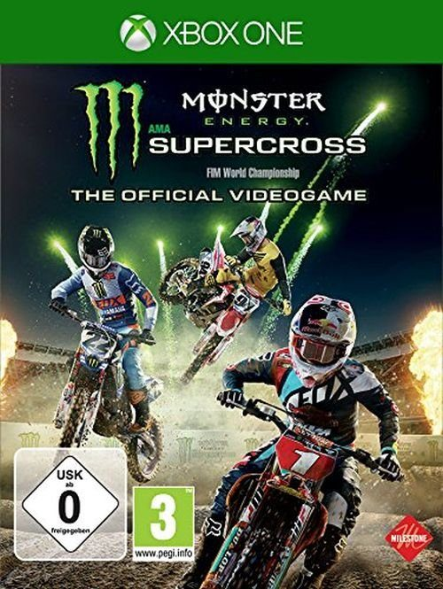 BigBen XBOX One - Spiel »Monster Energy Supercross - The official videogame«