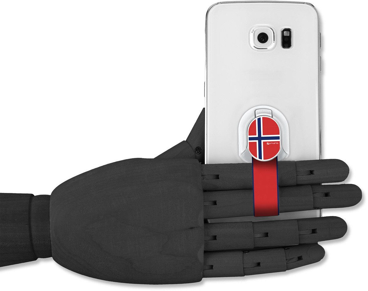4Smarts Zubehör »Finger Halteschlaufe für Smartphones, Norwegen«