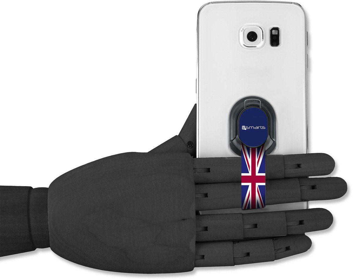 4Smarts Zubehör »Finger Halteschlaufe für Smartphones, Union Jack«
