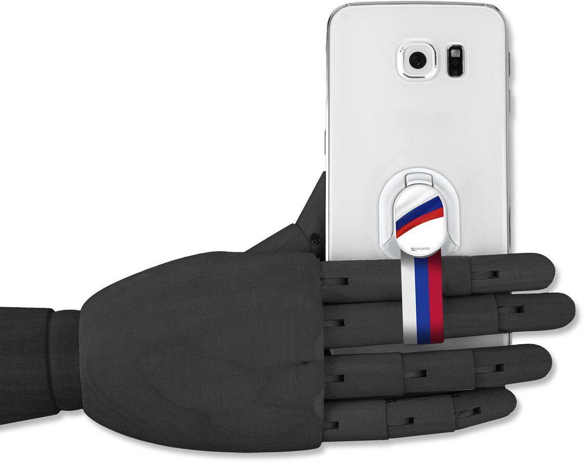 4Smarts Zubehör »Finger Halteschlaufe für Smartphones, Russland«