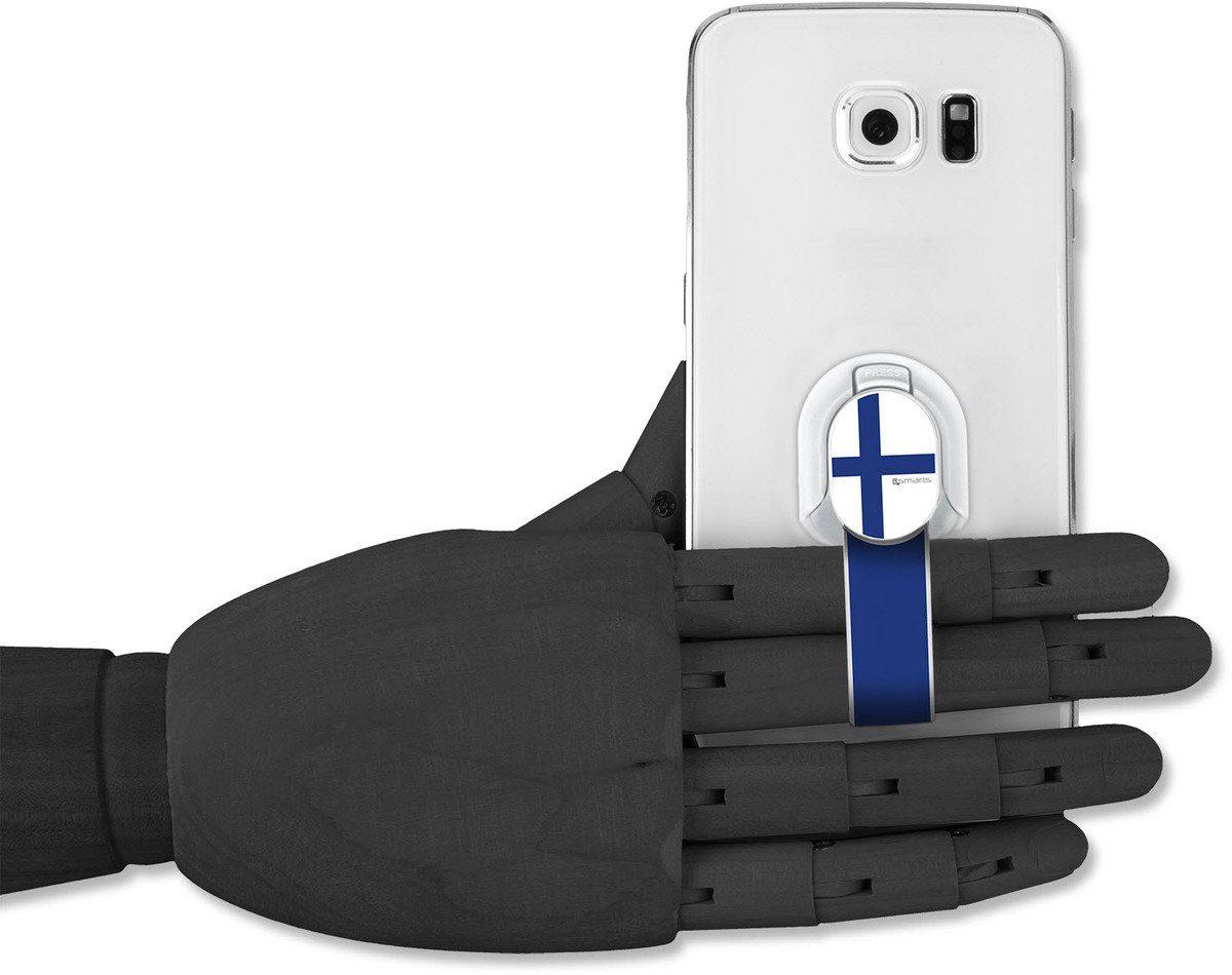 4Smarts Zubehör »Finger Halteschlaufe für Smartphones, Finnland«