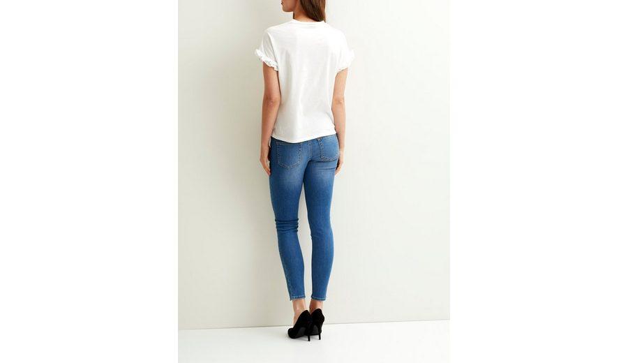 Billig Verkauf Eastbay OBJECT Skinny Fit Jeans Erhalten Authentische Online Freies Verschiffen Klassische FfStdXtnD
