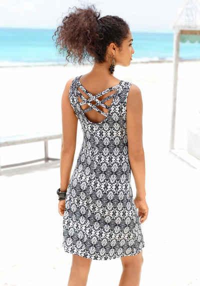 55c9ed0bfc3 Buffalo Strandkleid mit gekreuzten Bändern im Rücken