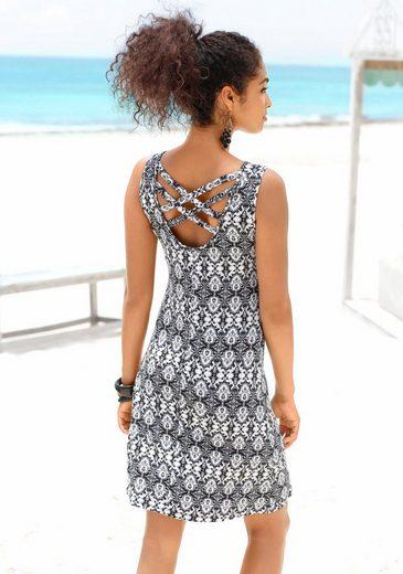 Buffalo Strandkleid mit gekreuzten Bändern im Rücken