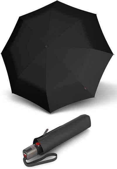 Damen-accessoires Knirps T.703 Stick Automatic Regenschirm Accessoire Check Beige Beige Schwarz Reiseaccessoires