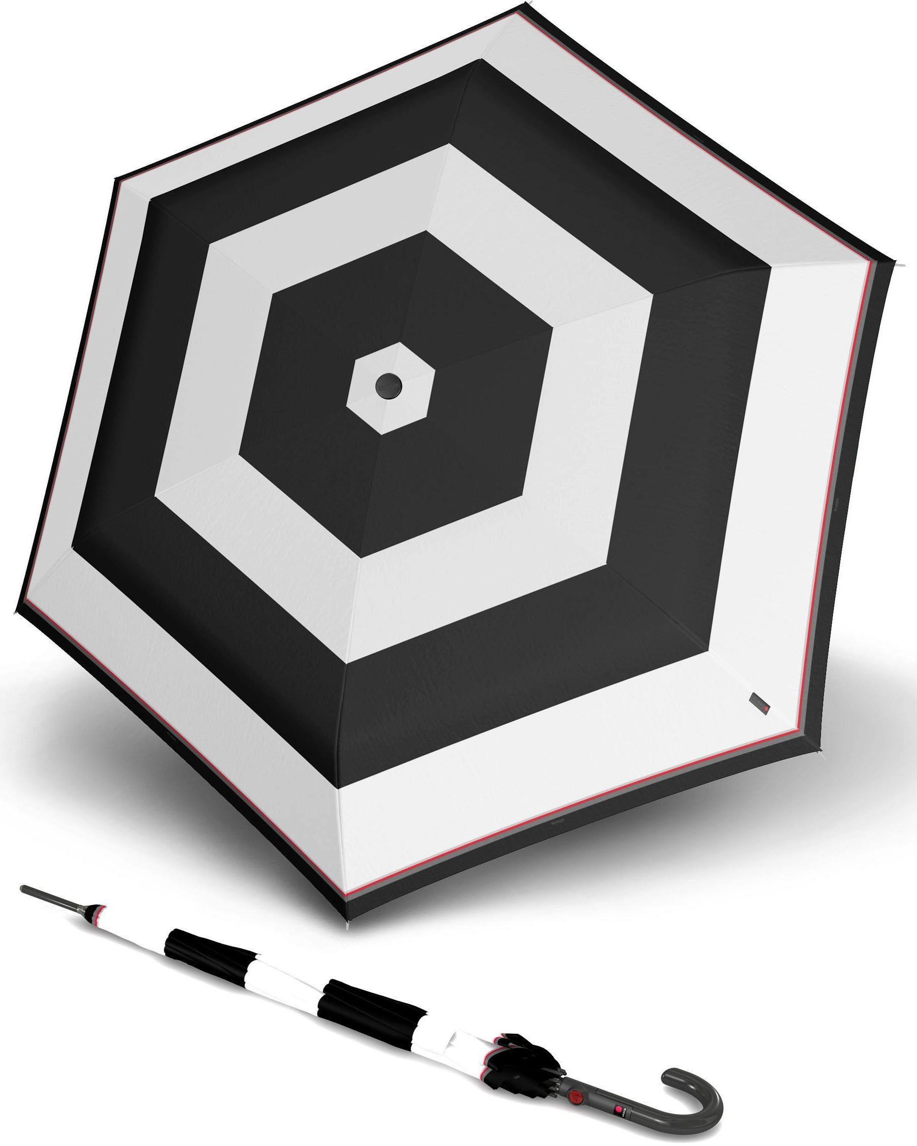 Knirps® Regenschirm - Langschirm, »T.703 Stick Automatic ID stripe«