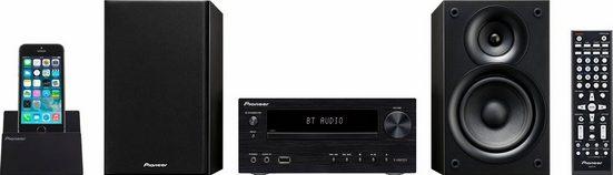 Pioneer »X-HM32V« Stereoanlage (FM-Tuner mit RDS, 60 W, Bluetooth Audio Streaming via integriertem Bluetooth-Empfänger)