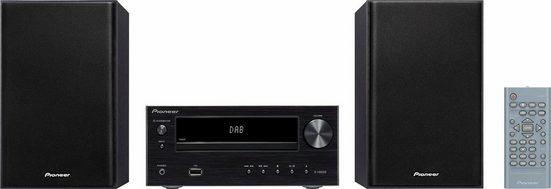 Pioneer »X-HM26D« Stereoanlage (Digitalradio (DAB), FM-Tuner, FM-Tuner mit RDS, 30 W, DAB+-Digitalradio)