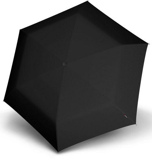 Knirps® Taschenregenschirm »TS.200 Slim Medium Duomatic black«
