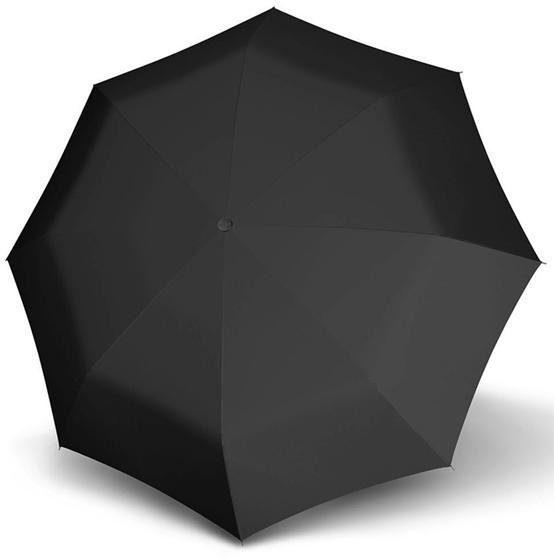 doppler® Regenschirm - Taschenschirm, »Fiber Magic Premium XM black«