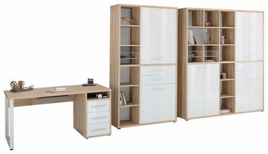 Maja Möbel Büro-Set »1391«, (Set, 3-tlg)