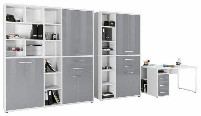 Maja Möbel Büro-Set »1391«, (Set, 3-tlg) | Büro > Büromöbel-Serien | Maja Möbel
