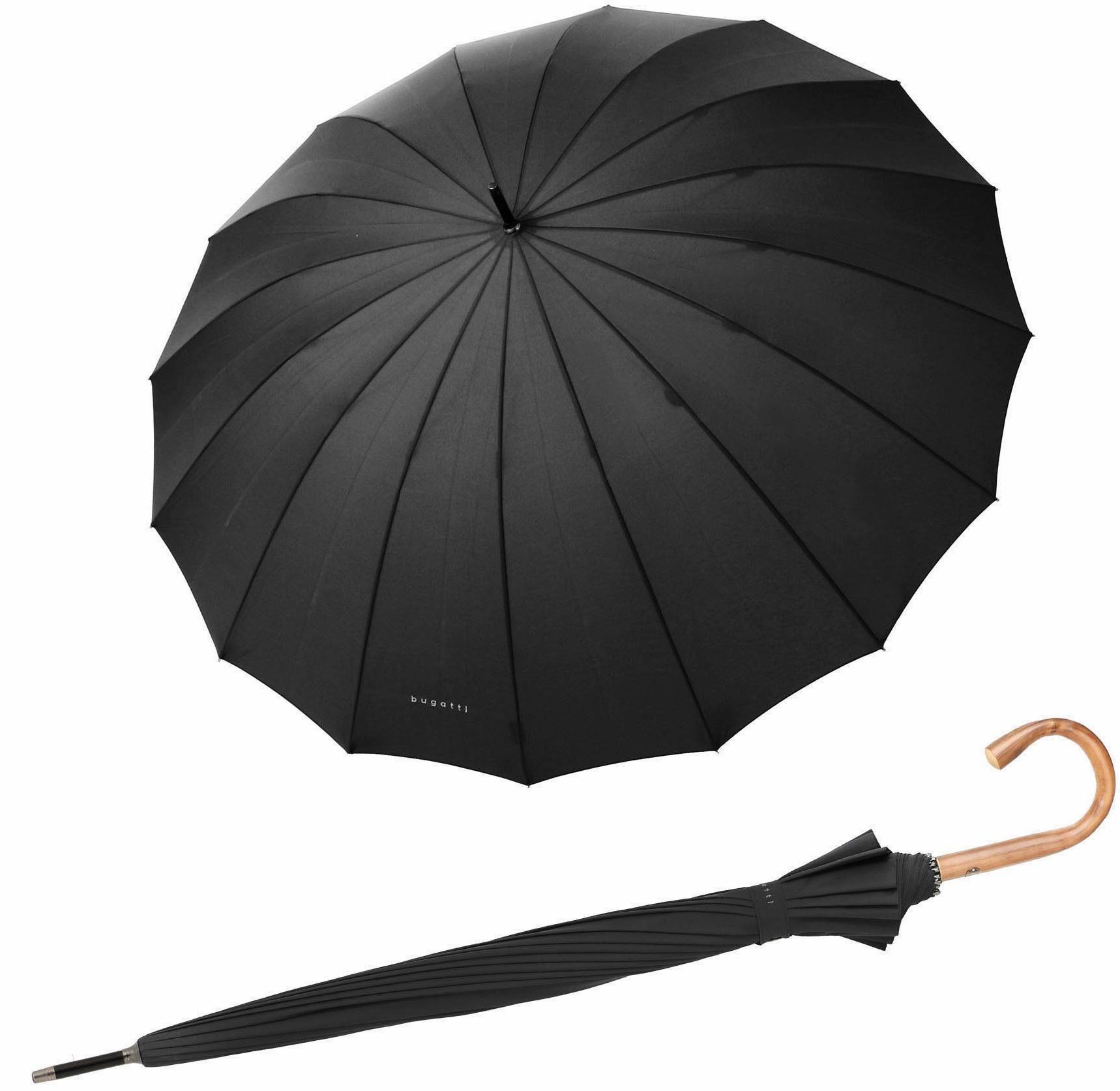 Bugatti Regenschirm, »Doorman uni black«
