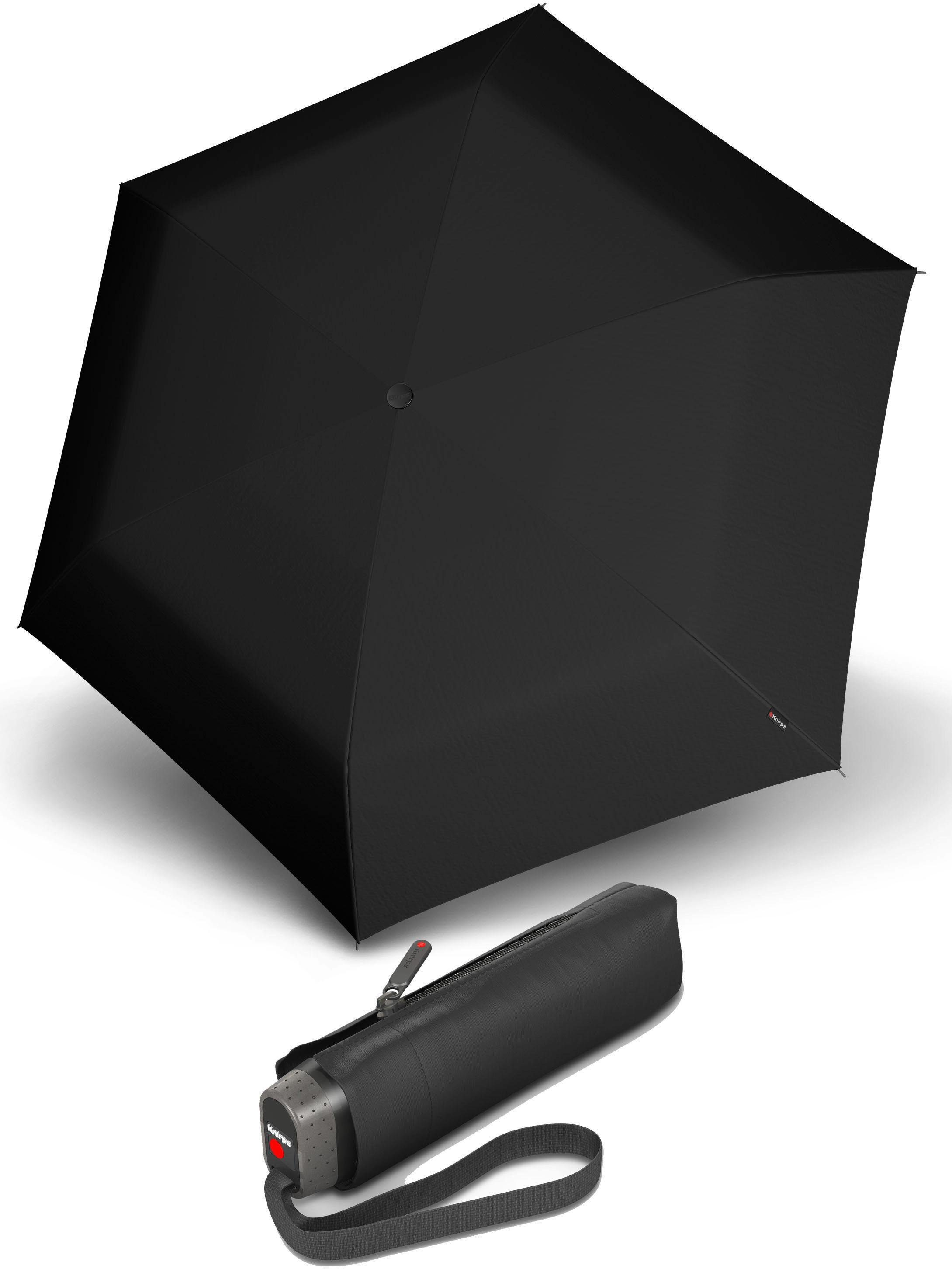 Knirps® Regenschirm - Taschenschirm, »TS.010 Slim Small Manual black«