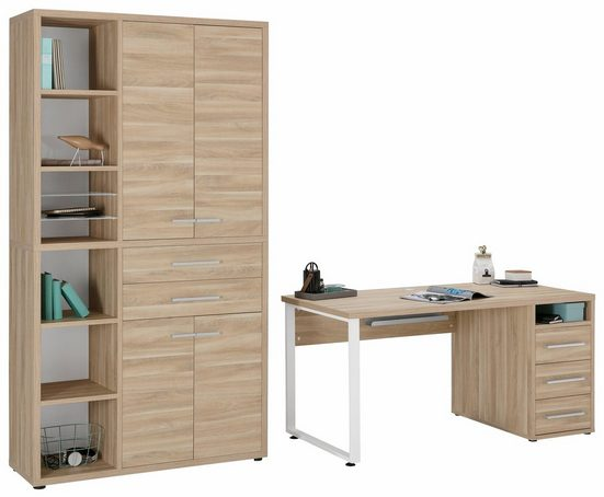 Maja Möbel Büro-Set »1390«, (Set, 2-tlg)