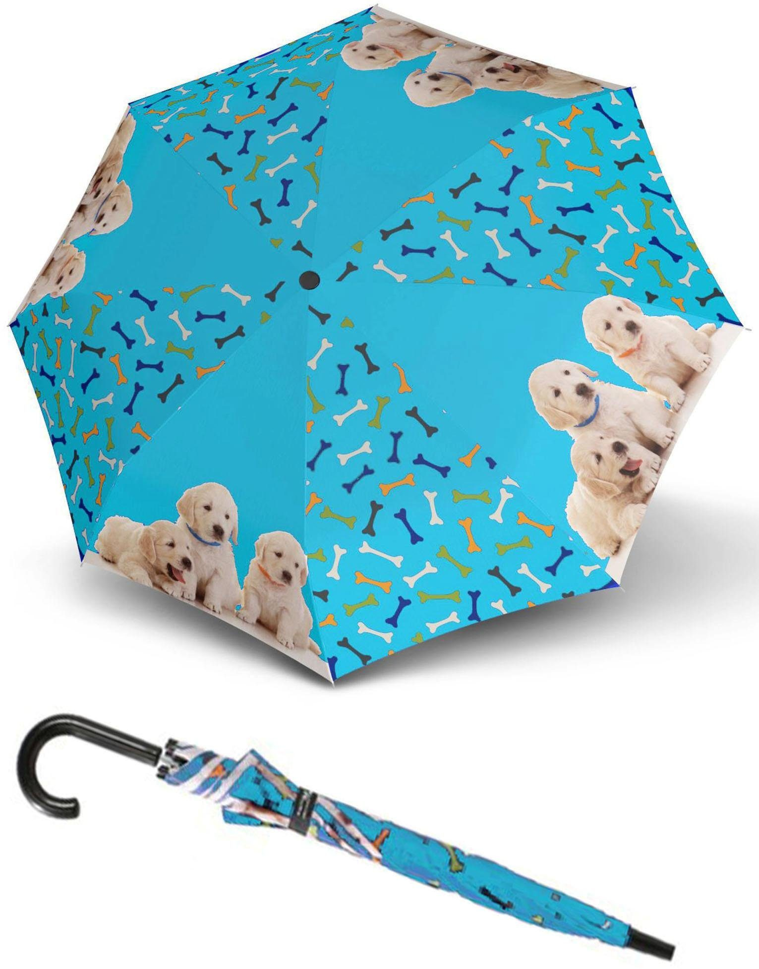 doppler® Regenschirm für Kinder, »Art Collection Jugend Dogs«