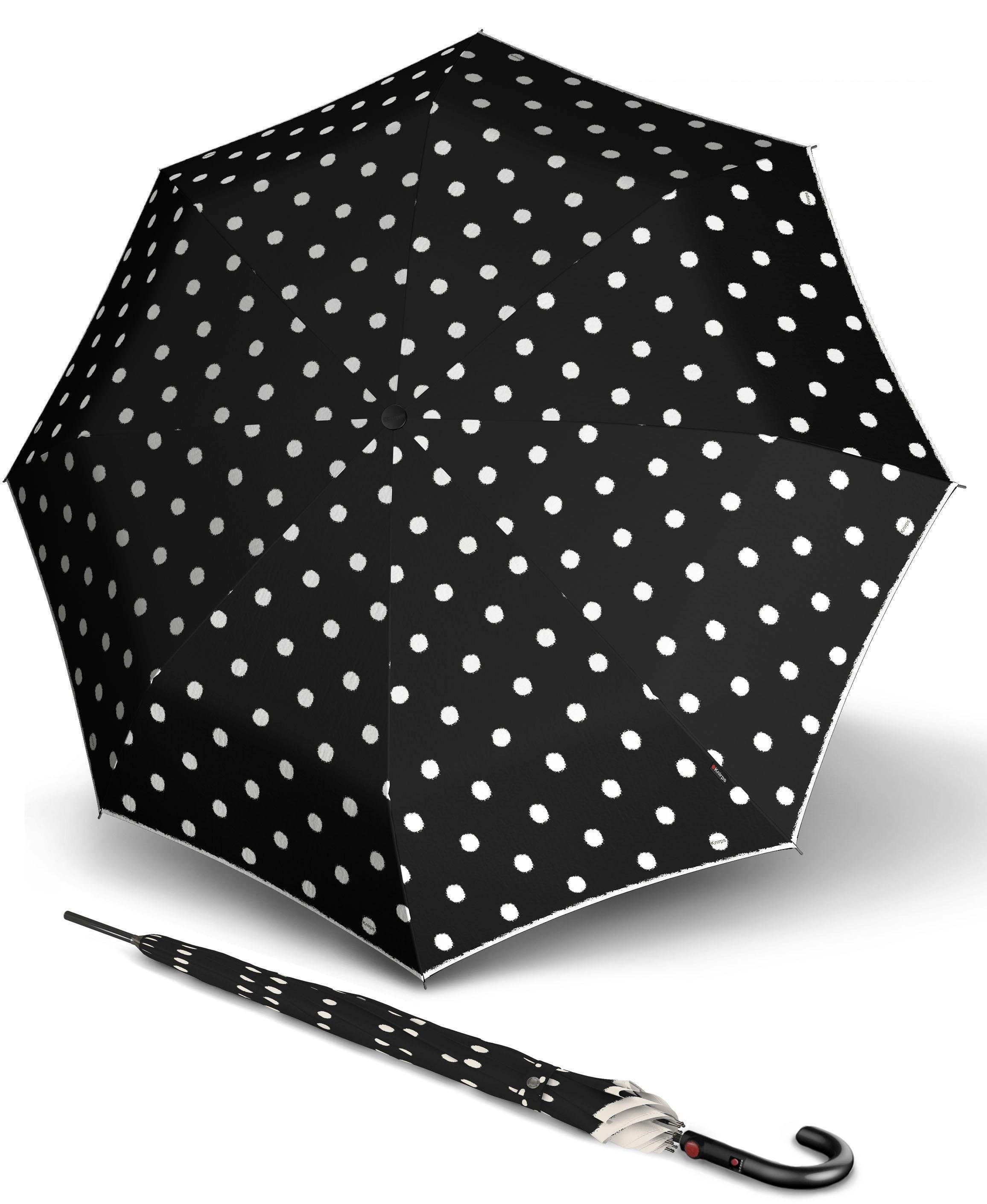 Knirps® Regenschirm - Langschirm, »T.703 Stick Automatic dot art black«