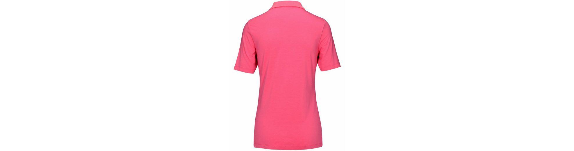 JETTE Poloshirt, mit Strasssteinchen