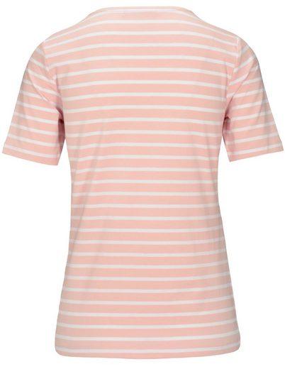 JETTE Rundhalsshirt, in Pima Cotton Qualität