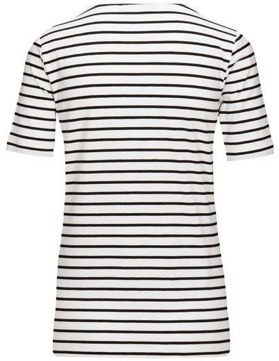 Jette Crew-neck Shirt In Pima Cotton Quality
