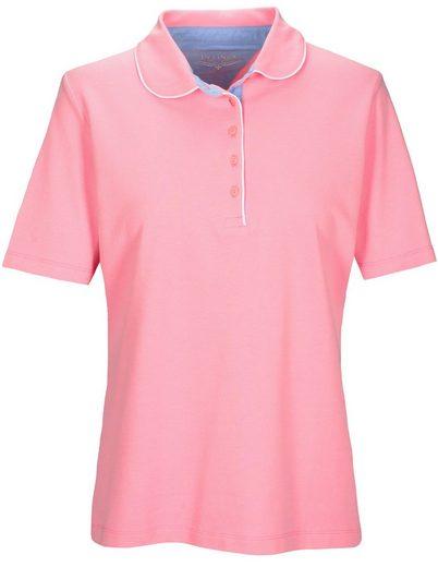 IN LINEA Poloshirt, mit Streifen -Design