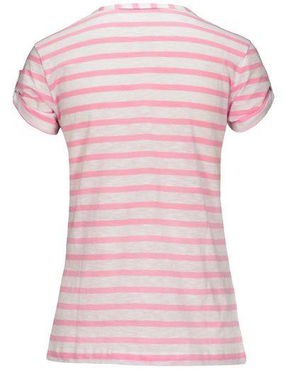 Clarina T-Shirt, mit Ringelmuster