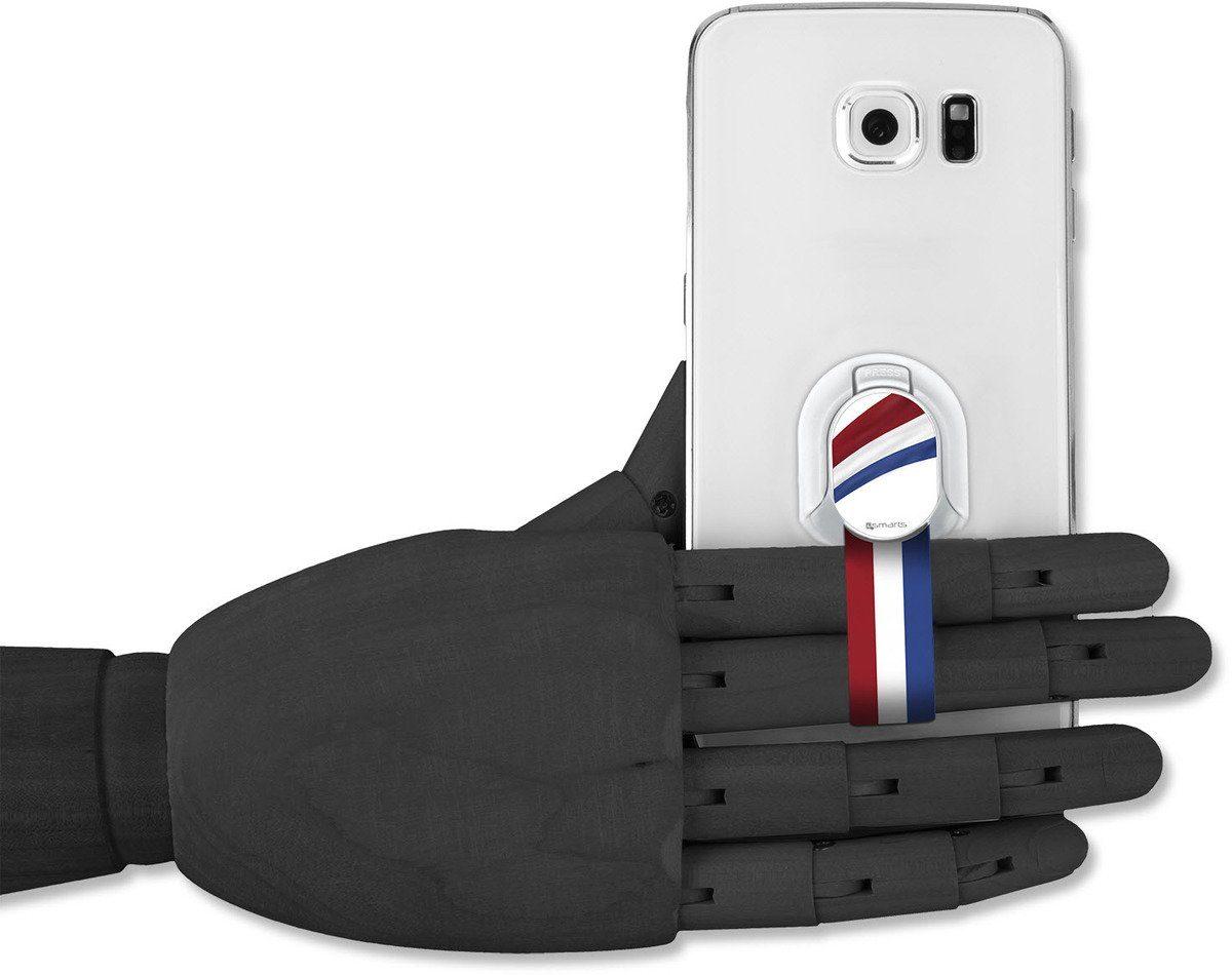 4Smarts Zubehör »Finger Halteschlaufe für Smartphones, Niederlande«