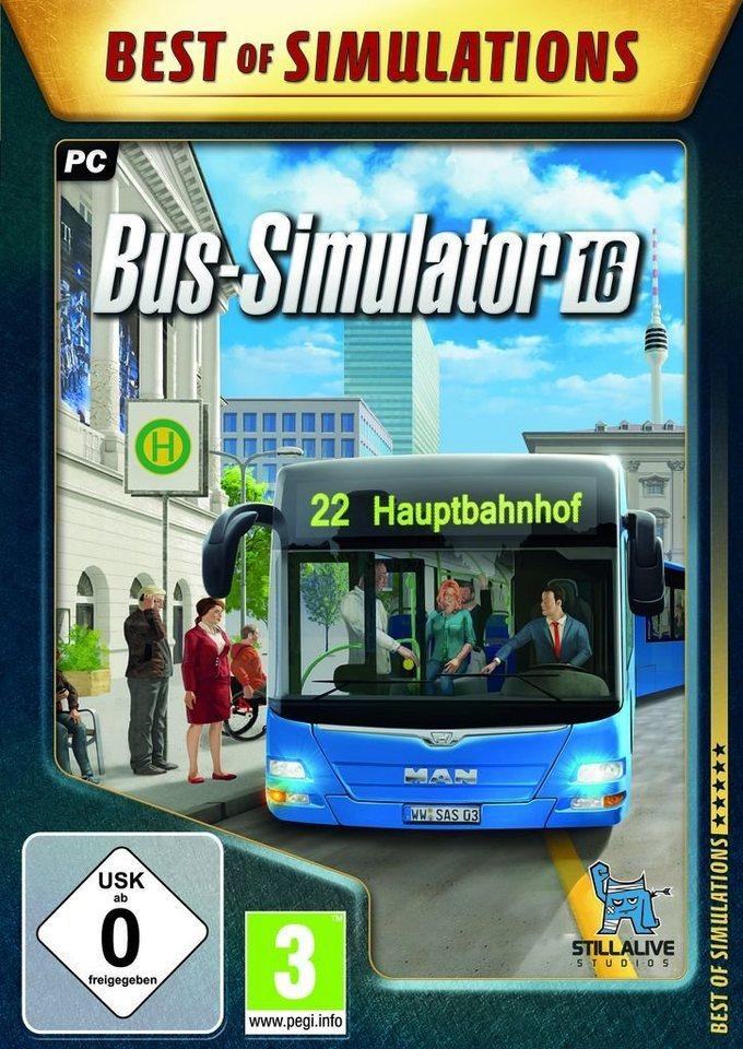 astragon pc spiel bus simulator 16 bos otto. Black Bedroom Furniture Sets. Home Design Ideas