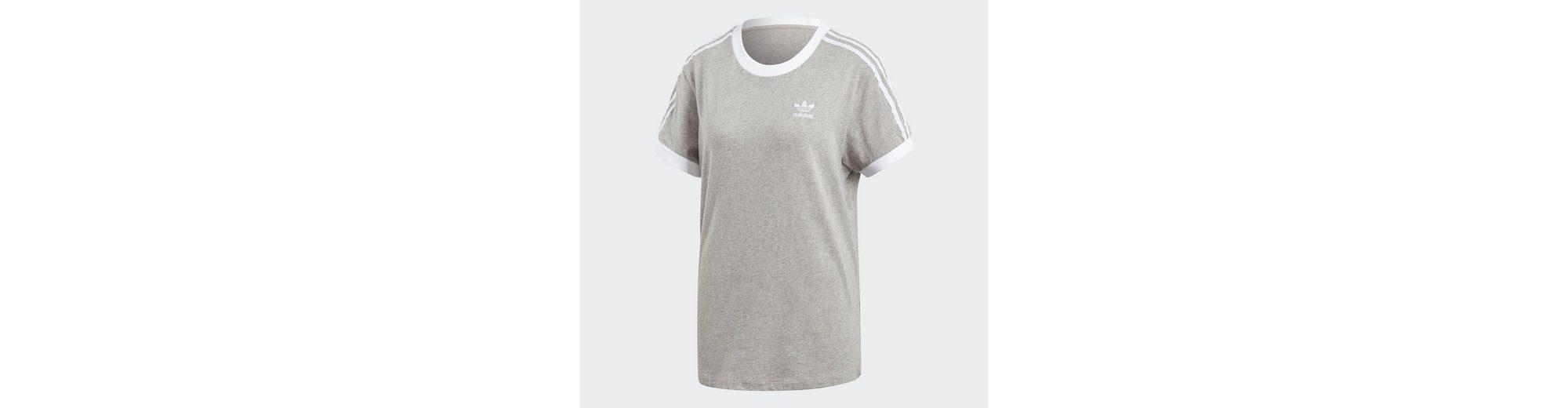 adidas Originals Sporttop 3-Streifen T-Shirt Verkauf Erstaunlicher Preis Beliebt Zu Verkaufen VFvhap
