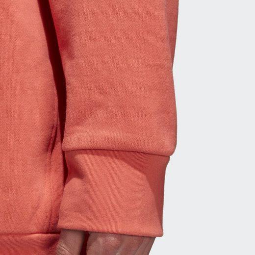 adidas Originals Longpullover Trefoil Oversize Crew Sweatshirt