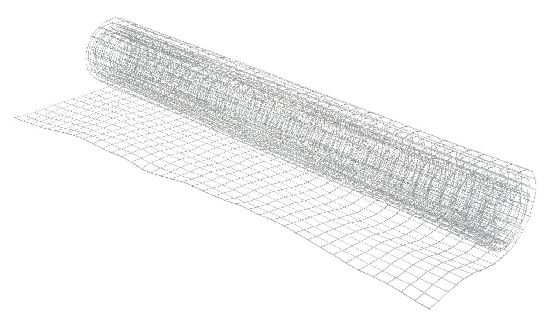 """Drahtgitter """"verzinkt 13x13mm Maschen"""" 1 m x 40 cm"""