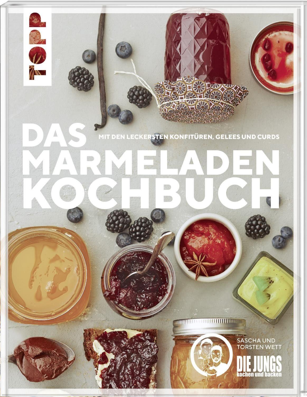 """Topp Buch """"Das Marmeladen-Kochbuch"""" 80 Seiten"""