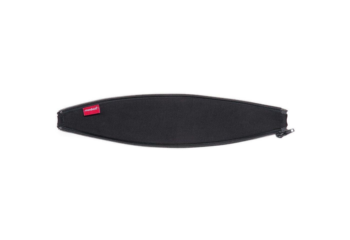 manduca Reißverschlusseinsatz für Rückenverlängerung Zipln Ellipse schwarz   04250371702775