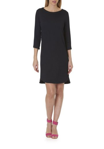 Betty&Co Kleid mit 3/4 Arm und Struktur