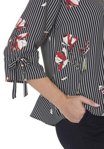 Betty&Co Bluse mit Querstreifen