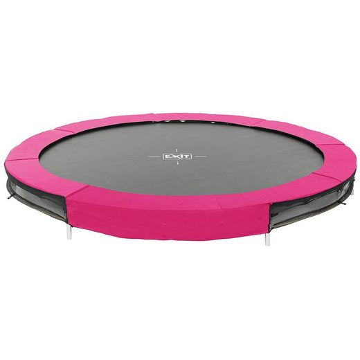 EXIT Trampolin Silhouette Ground 244 cm, rosa