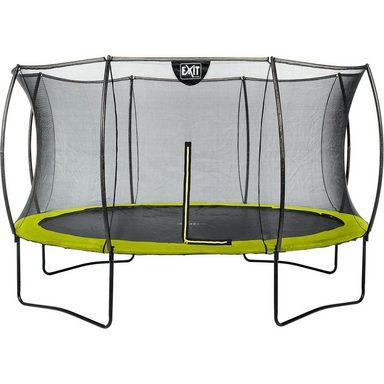 EXIT Trampolin Silhouette 427 cm + Sicherheitsnetz, grün