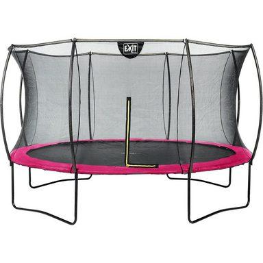 EXIT Trampolin Silhouette 427 cm + Sicherheitsnetz, rosa