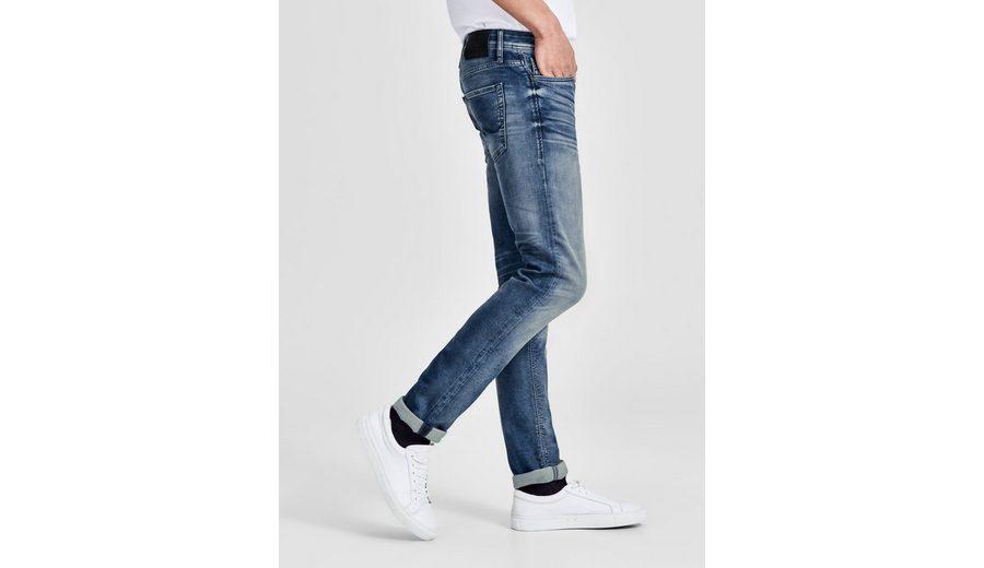 2018 Neuer Günstiger Preis Spielraum Billig Echt Jack & Jones GLENN ORIGINAL JOS 645 ID.K PLUS Slim Fit Jeans SRPFIL75aN