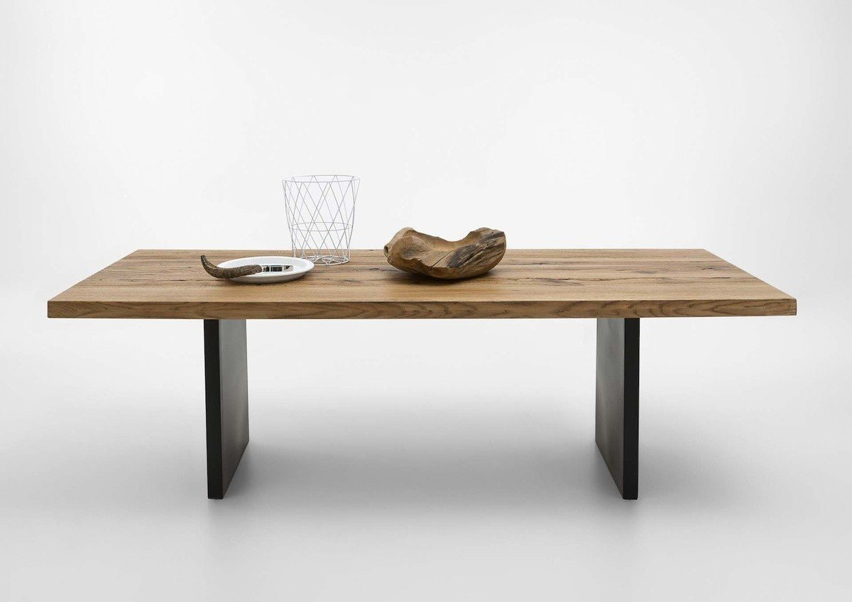 Kasper-Wohndesign  Couchtisch Massivholz Old Bassano GONA braun | 04250385967856