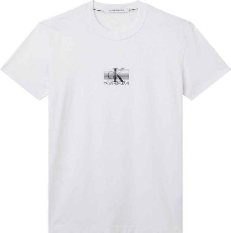 Calvin Klein Jeans T-Shirt »SMALL CK BOX STRIPE TEE«