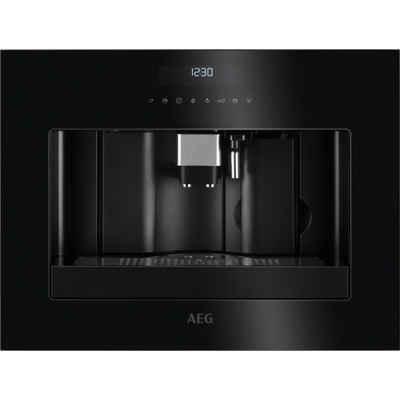AEG Einbau-Kaffeevollautomat KKE884500, Bedienung über Touch-Control-Berührungssensoren 2 Heizsysteme für eine optimale Brühtemperatur und Dampfausgabe
